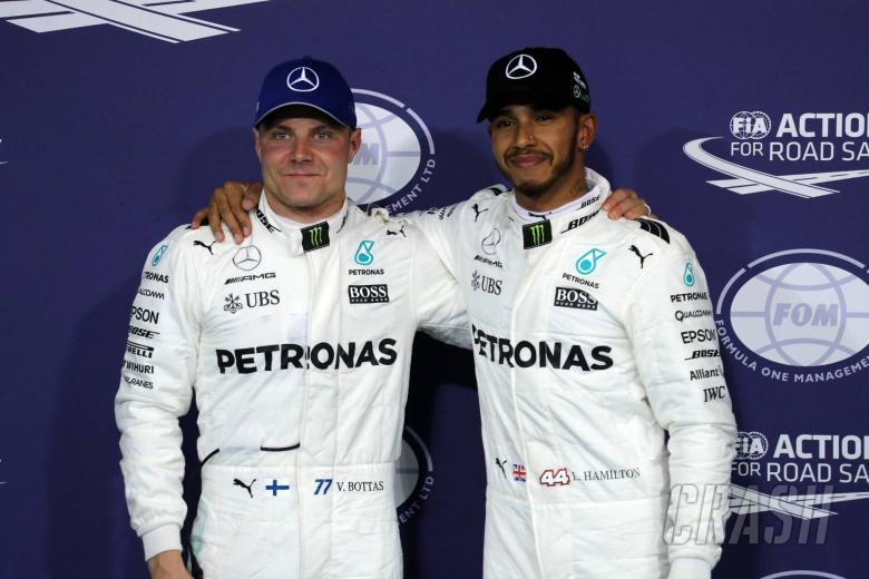 "F1: Mercedes needs ""disruption and calmness"" from Hamilton, Bottas"