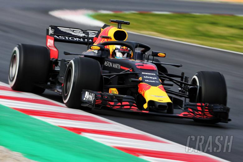F1: Red Bull's Daniel Ricciardo fastest in pre-season tests