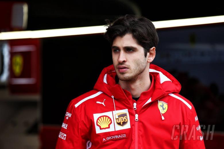 Antonio Giovinazzi (ITA) Ferrari Development Driver.01.03.2018.