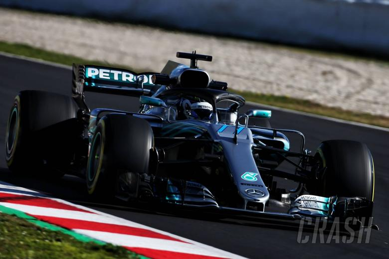 F1: Bottas: No point getting upset when Lewis beats me