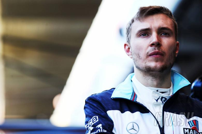 F1: Sirotkin doesn't feel added pressure from Kubica