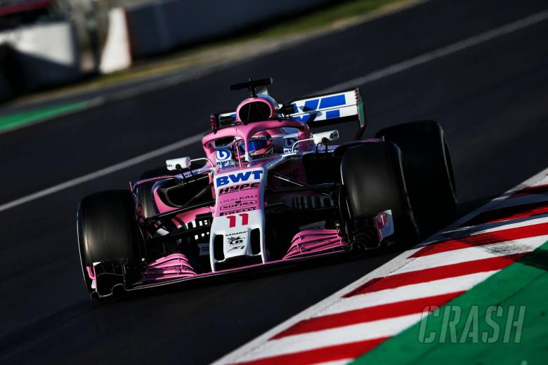 F1: Perez: Force India not leading F1 midfield battle