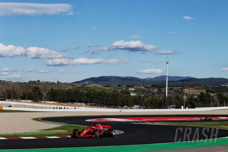 F1: Barcelona F1 Test 2 Times - Thursday 4pm