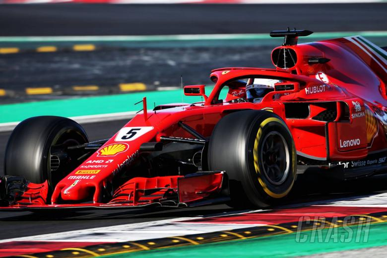 F1: Vettel smashes Barcelona F1 track record for Ferrari