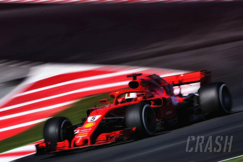 F1: Barcelona F1 Test 2 Times - Thursday 5pm