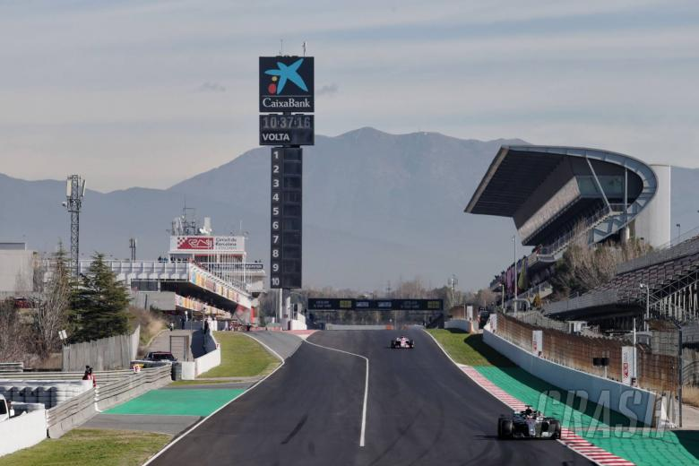 F1: Barcelona F1 Test 2 Times - Friday 1pm