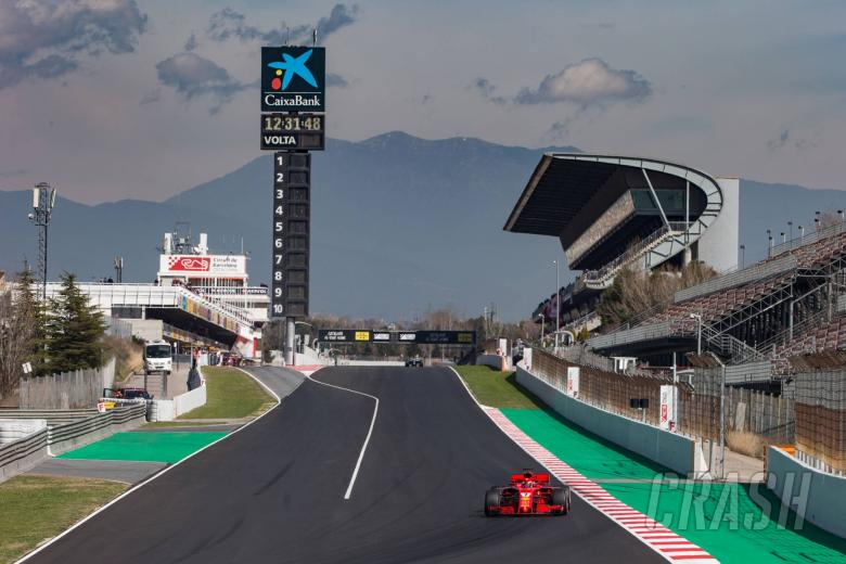 F1: Barcelona F1 Test 2 Times - Friday 5pm