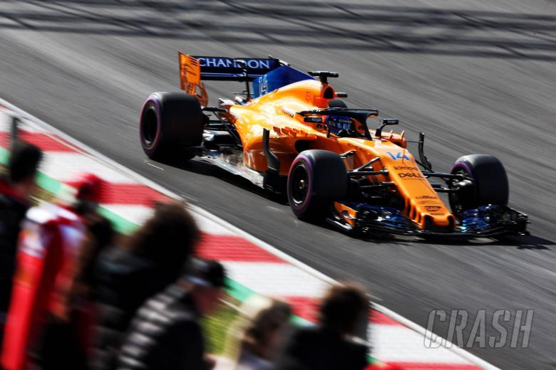 F1: Alonso ends 'rollercoaster' day P2 for McLaren