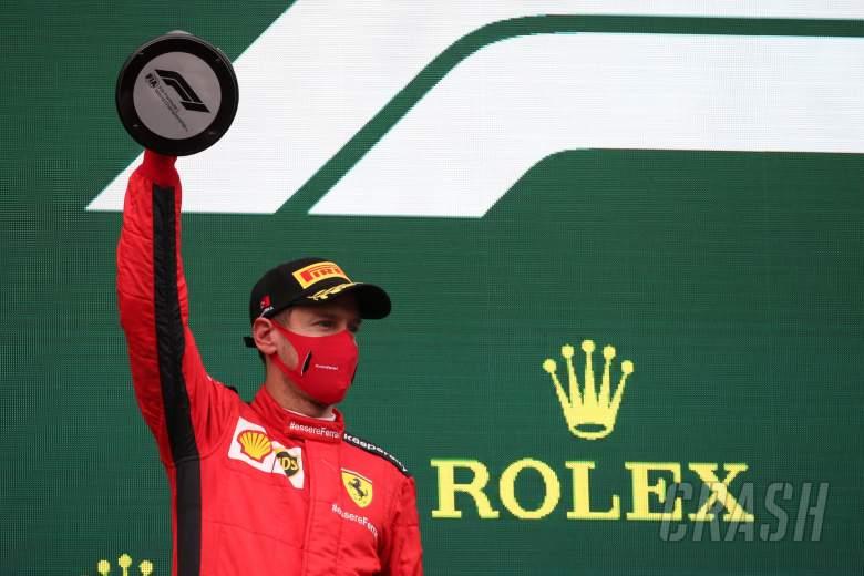 3rd place Sebastian Vettel (GER) Ferrari SF1000.