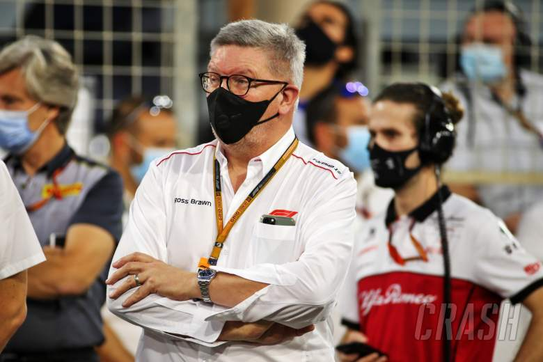 Ross Brawn (GBR) Managing Director, Motor Sports on the grid.