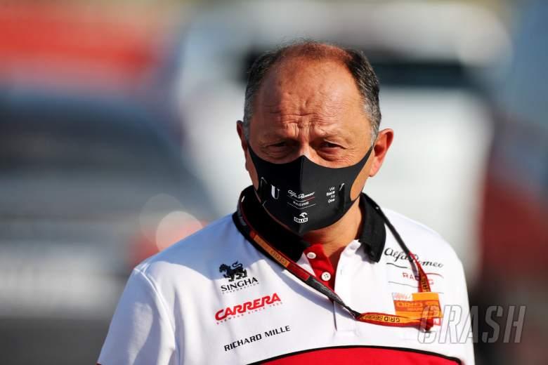 Frederic Vasseur (FRA) Alfa Romeo Racing Team Principal.