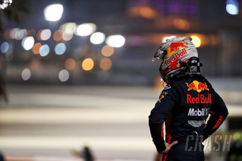 Max Verstappen (NLD) Red Bull Racing retired from the race.