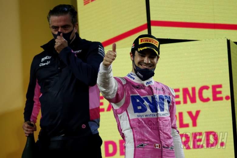 3rd place Lance Stroll (CDN) Racing Point F1 Team RP20.