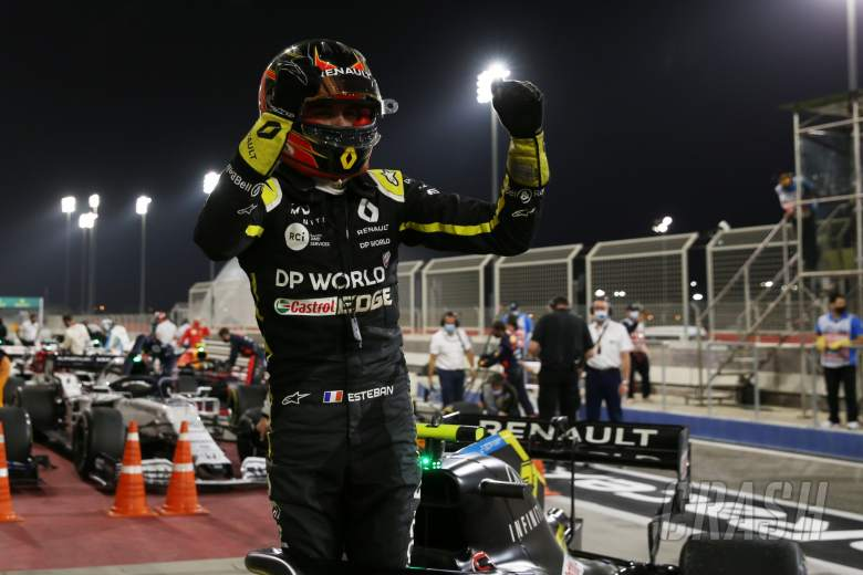 2nd place Esteban Ocon (FRA) Renault F1 Team RS20.