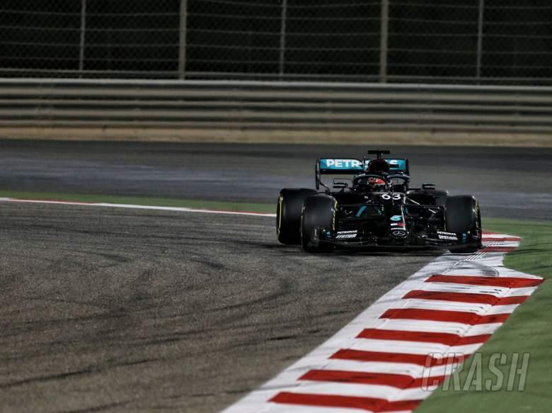George Russell (GBR) Mercedes AMG F1 W11.