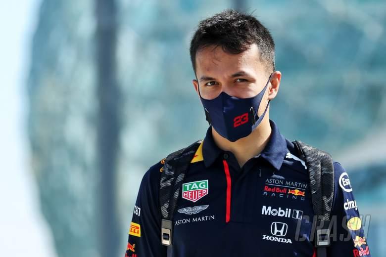 Alexander Albon (THA) Red Bull Racing.