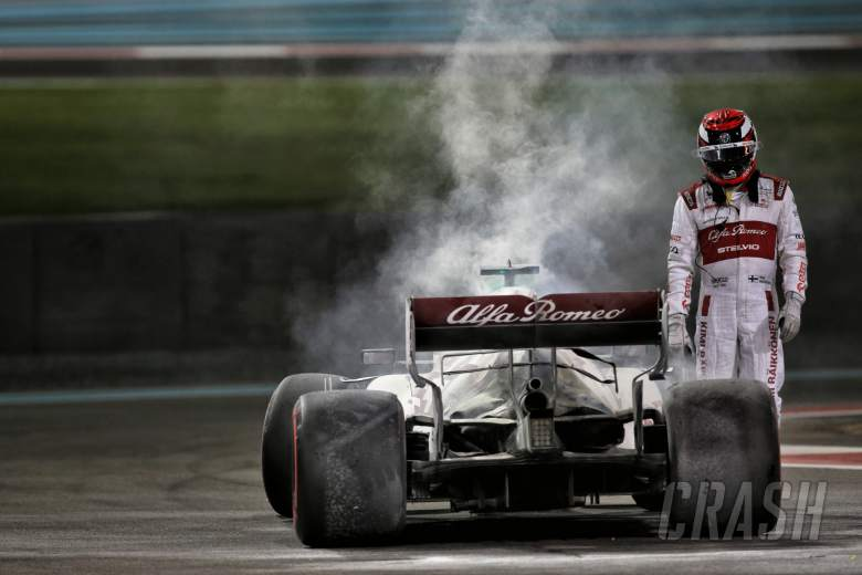 Kimi Raikkonen (FIN) Alfa Romeo Racing C39 in the second practice session.