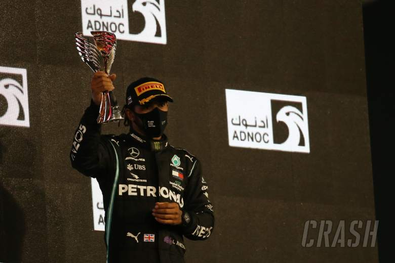 3rd place Lewis Hamilton (GBR) Mercedes AMG F1 W11.