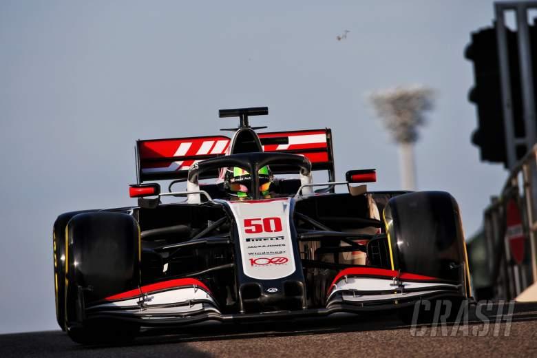 Mick Schumacher (GER) Haas VF-20 Test Driver.