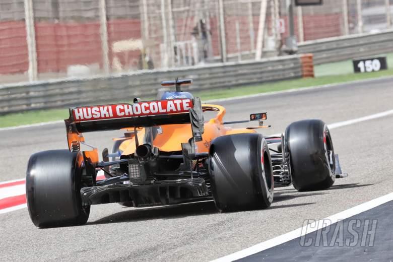 Daniel Ricciardo (AUS) McLaren MCL35M - rear diffuser and rear wing detail.