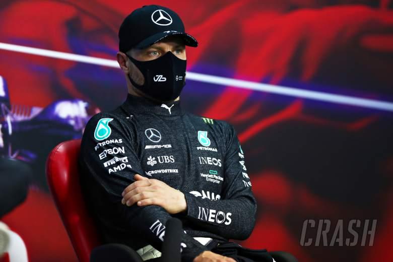 Valtteri Bottas (FIN) Mercedes AMG F1 in the FIA Press Conference.
