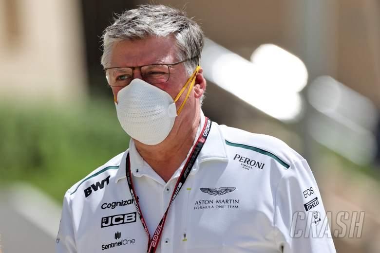 Otmar Szafnauer (USA) Aston Martin F1 Team Principal and CEO.