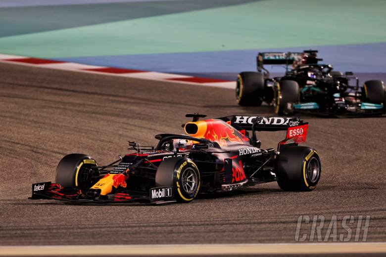 Max Verstappen (NLD) Red Bull Racing RB16B.
