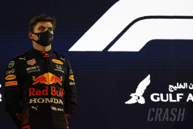 2nd place Max Verstappen (NLD) Red Bull Racing.