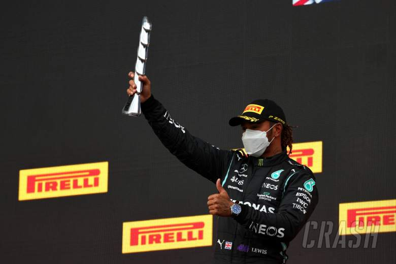2nd place Lewis Hamilton (GBR) Mercedes AMG F1.