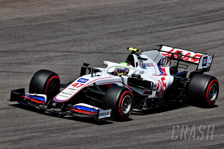 Mick Schumacher (GER) Haas VF-21.