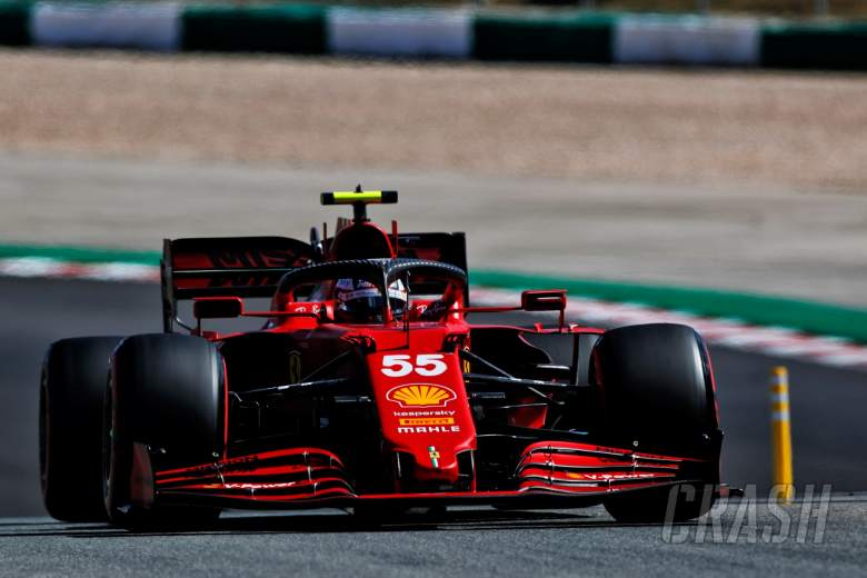 Carlos Sainz Jr (ESP) Ferrari SF-21.
