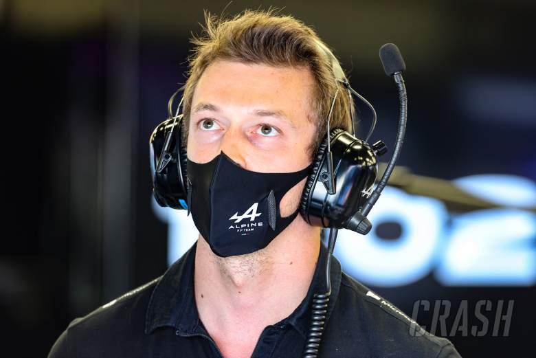 Daniil Kvyat (RUS) Alpine F1 Team Reserve Driver.