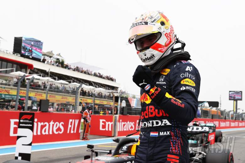 Pole for Max Verstappen (NLD) Red Bull Racing.