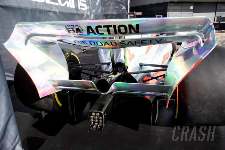 2022 F1 Car in the paddock.
