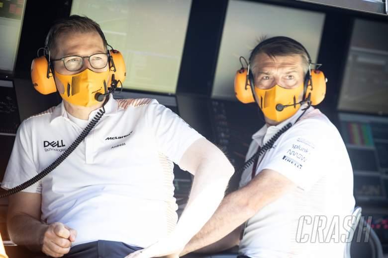 Andreas Seidl, Managing Director McLaren (Kiri).