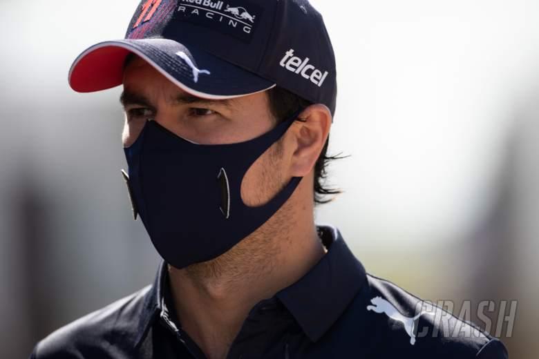 Sergio Perez (MEX) Red Bull Racing.