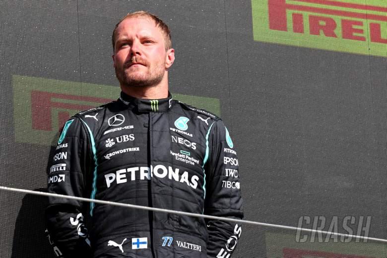 3rd place Valtteri Bottas (FIN) Mercedes AMG F1.