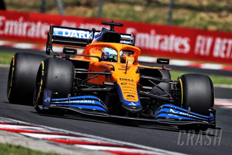 Daniel Ricciardo (AUS) McLaren MCL35M.