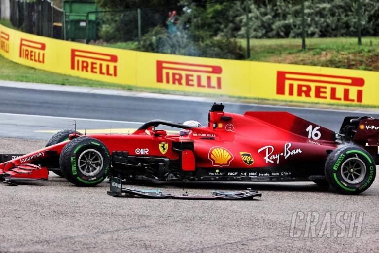 Charles Leclerc (MON) Ferrari SF-21 retired from the race.