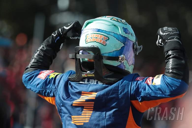丹尼尔·里卡多(澳大利亚)迈凯轮迈凯轮35m。