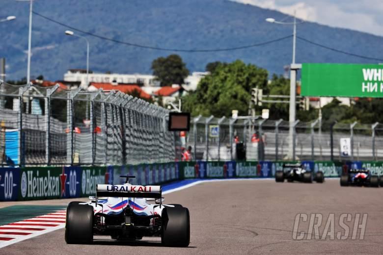 Nikita Mazepin (RUS) Haas F1 Team VF-21.