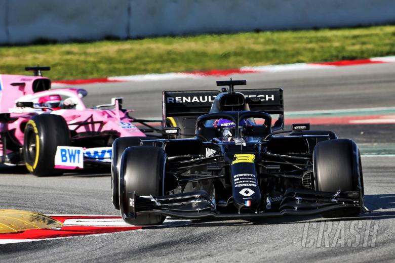 """Renault expects F1 midfield to be """"within a tenth"""""""