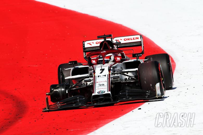 Kimi Raikkonen rues missed F1 points in odd wheel shredding incident