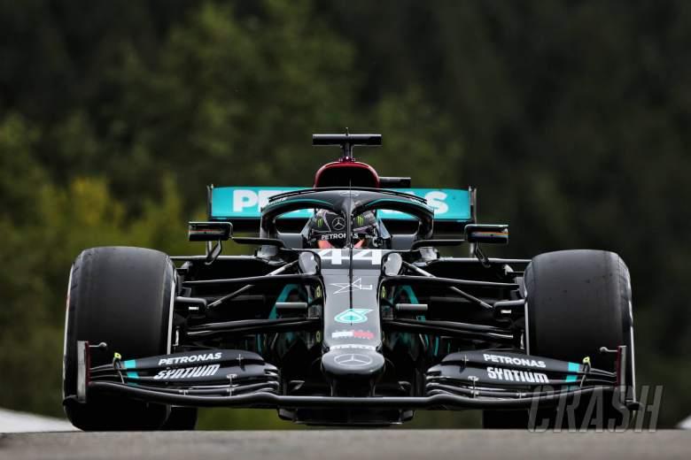 Ferrari slowest as Hamilton leads F1 Belgian GP FP3