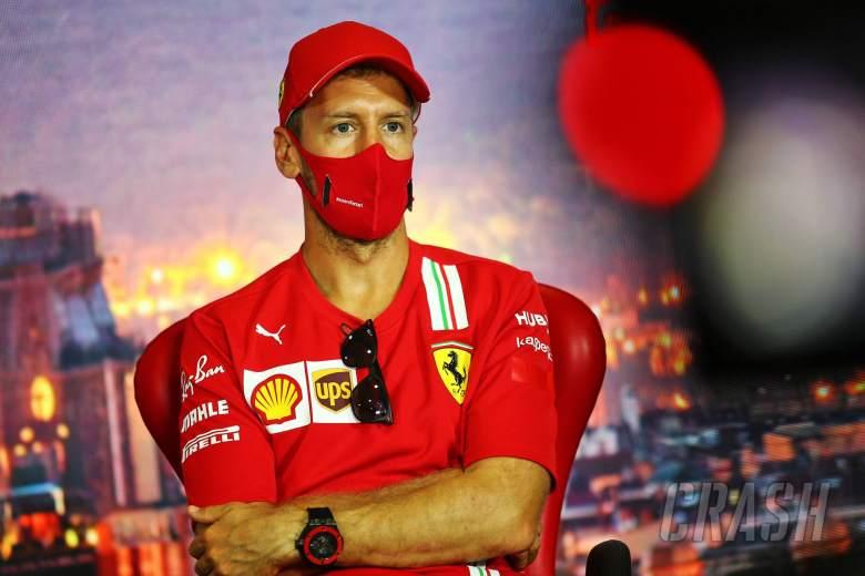 Vettel doesn't fear F1 mid-season drop despite struggles