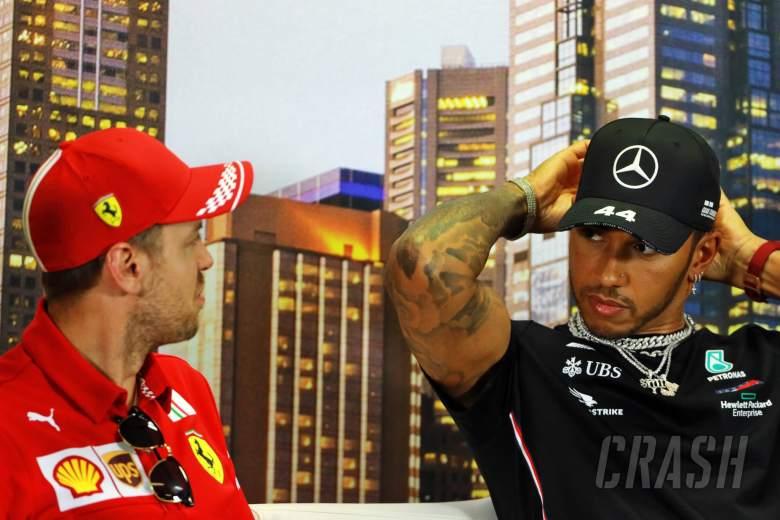 Ferrari F1 engine row won't hurt respect with Hamilton - Vettel