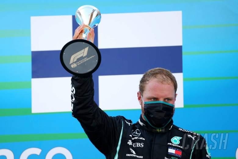 Valtteri Bottas (FIN) Mercedes AMG F1 W11 3rd place.