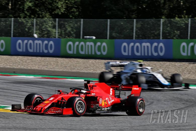 "Vettel on ill-handling Ferrari - ""I'm happy to have spun just once..."""