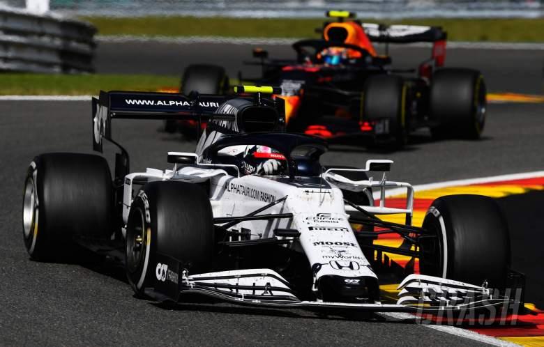 Gasly takut Perez mengalami kecelakaan saat berlari ke Eau Rouge di GP F1 Belgia