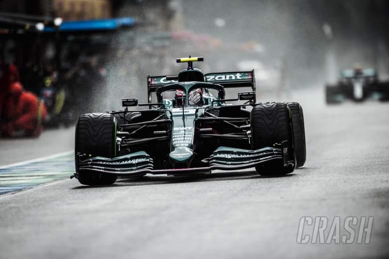 Sebastian Vettel ( GER) Aston Martin F1 Team AMR21.